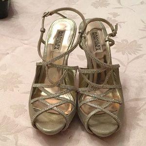 Badgley Mischka heeled sandal